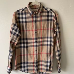 Men's Burberry Button Down